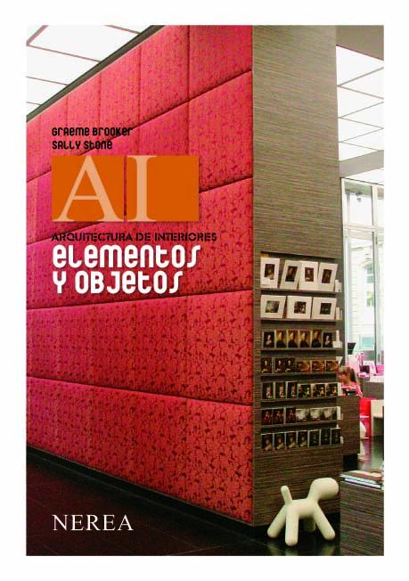 Elementos y objetos en la arquitectura de interiores for Arquitectura de interiores pdf